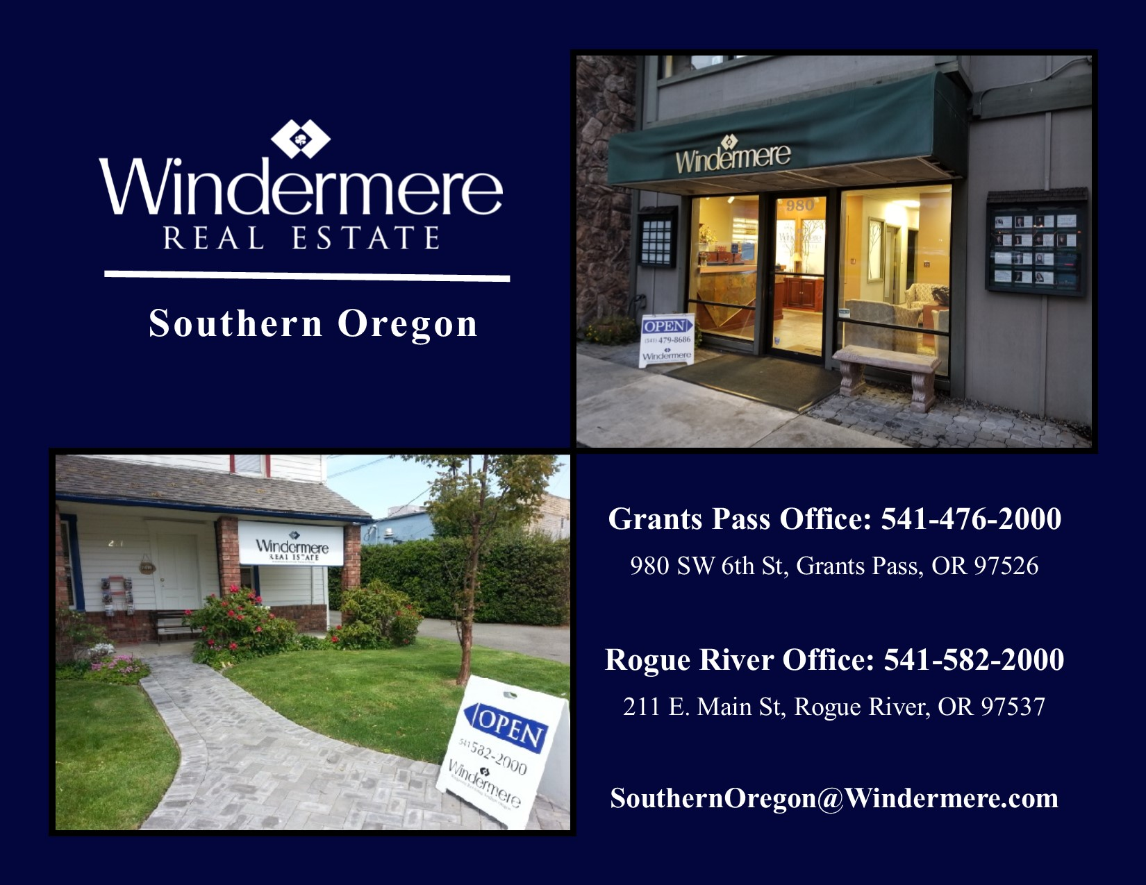 Marian_Susan_Southern_Oregon_Real_Estate_Windermere Grants Pass Office Pic